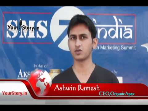 Ashwin Ramesh, a Serial Entrepreneur & CEO at OrganicApex on YourStoryTV