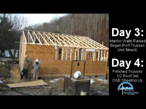 Building a house is easy youtube for Steps to building your own home