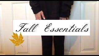 Fall Essentials // rileyalex ❥ Thumbnail