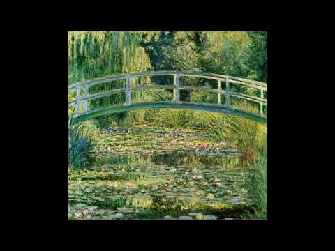 Rare Film Of The Painter C Monet Working In His Garden Of Giverny.
