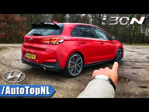 Hyundai i30 N REVIEW POV on AUTOBAHN FOREST ROADS by AutoTopNL