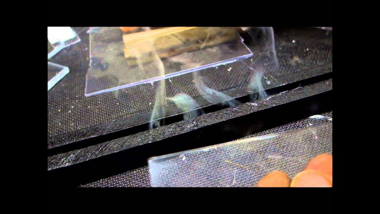 acryl und polycarbonat mit hitze schneiden youtube. Black Bedroom Furniture Sets. Home Design Ideas