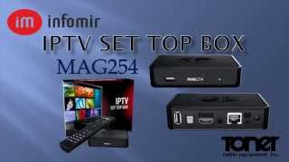 Quick Look at the Infomir MAG254-255 IPTV Settop Box - Toner Cable(, 2014-11-26T16:14:17.000Z)