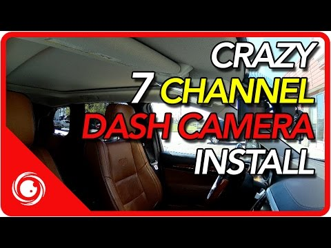 7 Channel Dash Camera Install | CANADA DASHCAM.COM