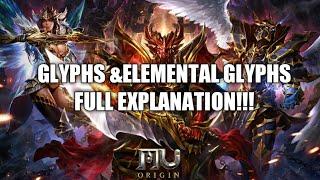 MU OROGIN2:Glyphs & Elemental Glyphs Full explanation !!!