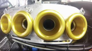 caterham r400 rover k series dyno run