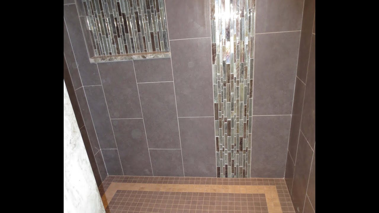 Tile Shower Failure And Repair. Part 1 Through 5   YouTube