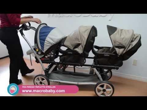 MacroBaby - Peg Perego Triplette Stroller