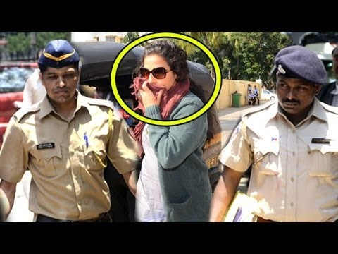 Vidya Balan Gets Arrested By Police For Kahaani 2 Trailer Launch