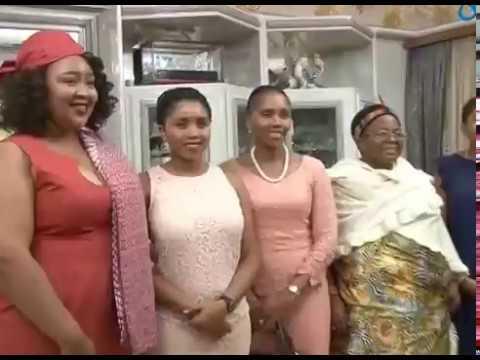 Lesotho Queen Mother departure