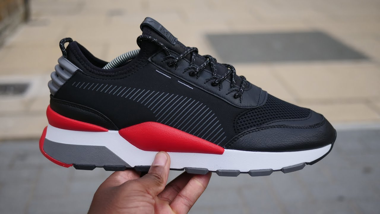 b5bbb1f977 Puma RS-0 Reinvention 'Play' Quick Look & On Feet (Black/Red/Grey)