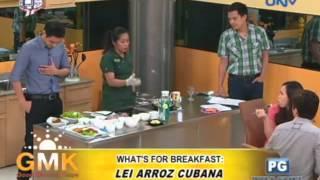 What's For Breakfast: Lei Arroz Cubana