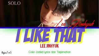 Lee Jinhyuk - I Like That [Lyrics Han/Rom/INA]