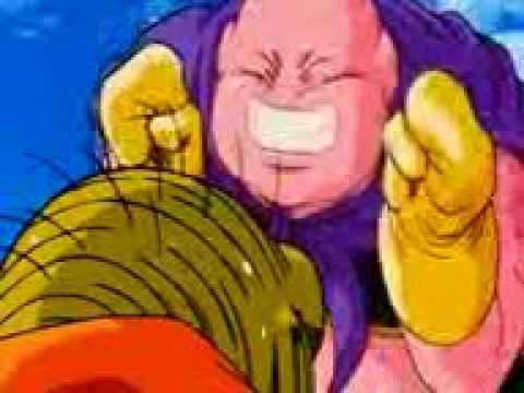 dragon ball z goku turns super saiyan 2 for majin buu