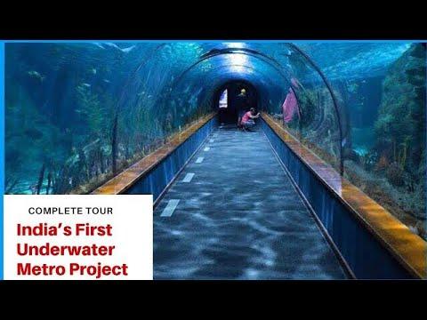 India's First Underwater Metro In Kolkata | Kolkata Underwater Metro | Tour Of Underwater Metro 2020