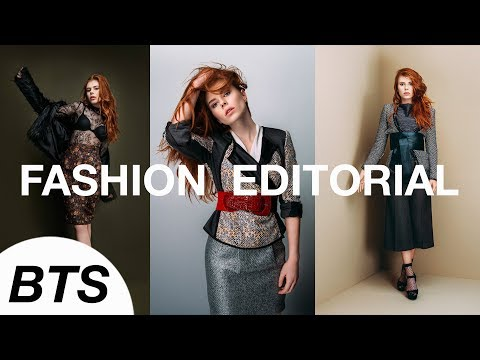 Fashion Editorial Photoshoot Behind The...