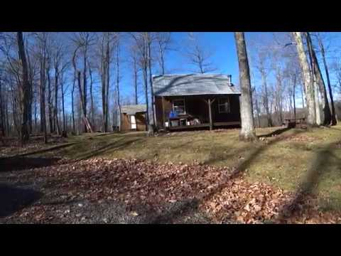 #2 WV Off The Grid Cabin - Brief Property Overview By WV Cabin Living