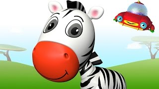 TuTiTu Animals | Animal Toys and Songs for Children | Zebra