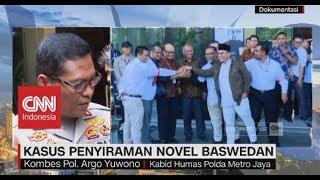 Polisi Belum Temukan Titik Terang Kasus Penyiraman Novel Baswedan