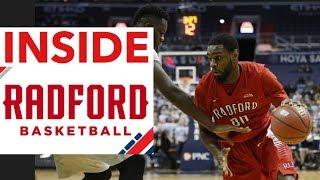 Inside Radford University men's basketball | Vlog #12