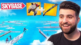 I Hosted a SKYBASE ONLY Scrim! (INSANE!) - Fortnite Season 3