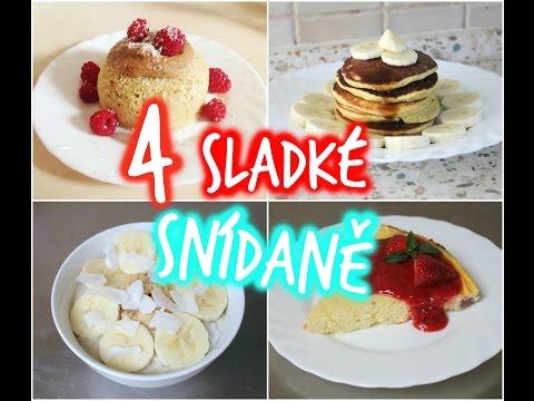 4 jednoduché a zdravé snídaně | Chick Lexi