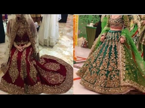 latest-bridal-lehenga-choli-designs-2020-for-eid---special-lehenga-choli-desings-for-eid