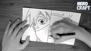 Speed Drawing - Obito & Kakashi
