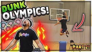 "The Mini-Hoop ""DUNK OLYMPICS"" (Part 2)"