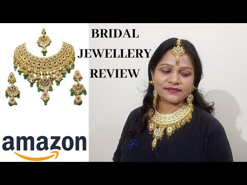Amazon bridal jewellery set review  bridal jewellery online  full online bridal jewellery review 2