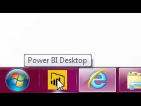 Highline Excel 2016 Class 23: Intro to Power BI Desktop to Create Data Model & Visualization