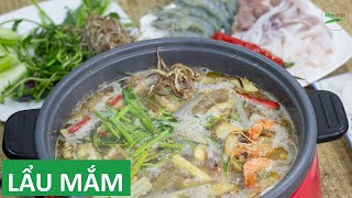 Cách nấu Lẩu Mắm Miền Tây ngon tại nhà   Món Việt