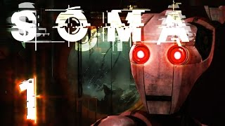 SOMA begins! The next horror game from Frictional Games, the studio...