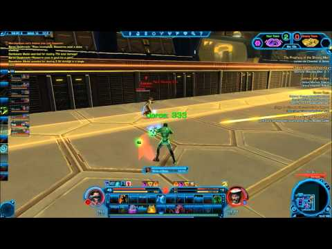 SWTOR - Imperial Agent Sniper (Engineer) PVP - HD - Trax (player)