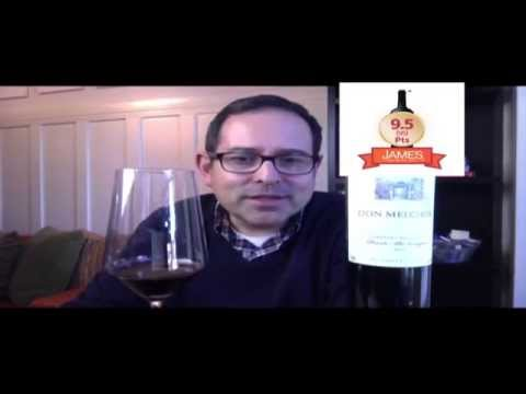 Concha y Toro Don Melchor Cabernet Sauvignon '10 - 9.5 (95) - Episode #1862 - James Melendez