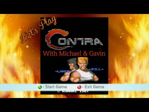 Let's Play Contra With Michael & Gavin | Rooster Teeth