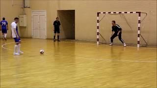Полуфинал кубка города по мини футболу УКС Легион Драмматический матч Много голов