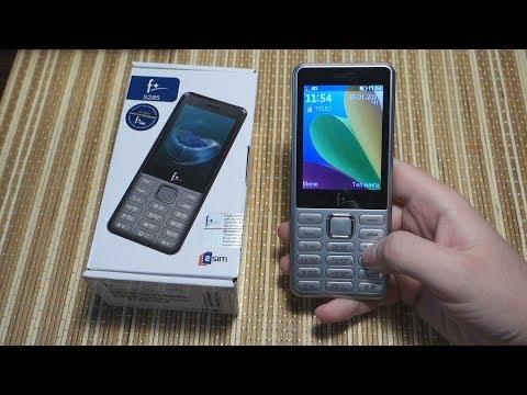 F+ S285. Зачем я купил кнопочный телефон в 2020 году?