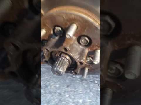Isuzu rodeo wheel bearing inner and end