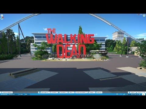 The walking dead park - Planet Coaster