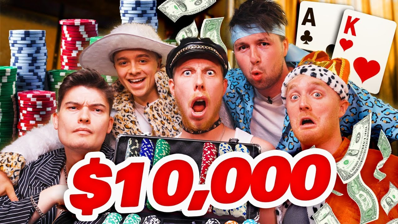 $10,000 YOUTUBER POKER CHALLENGE