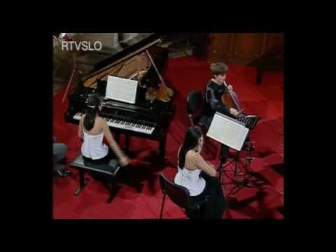 Greenwich Trio - Brahms Piano Trio no.2,  (Allegro)