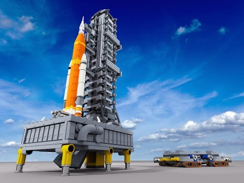 Lego NASA SLS & Orion Spacecraft