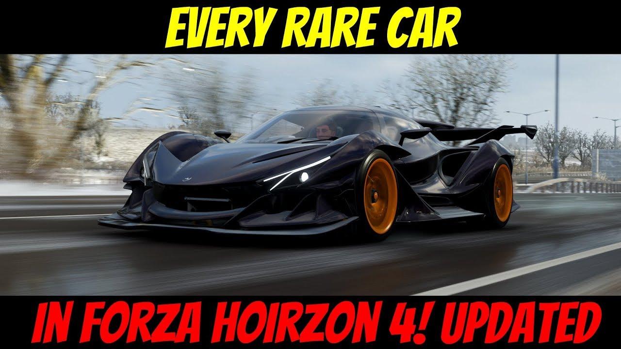 Forza Horizon 4 Autos