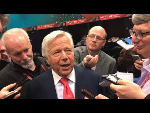 Patriots Owner Robert Kraft On Tom Brady After Super Bowl LI