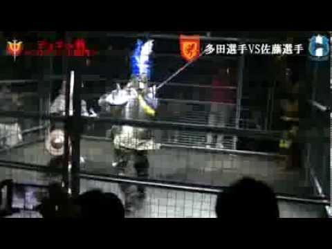 騎士対武士の甲冑バトルスポーツ アーマードバトル日本代表決定戦!