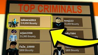 MOST BOUNTY EVER (Roblox Jailbreak)