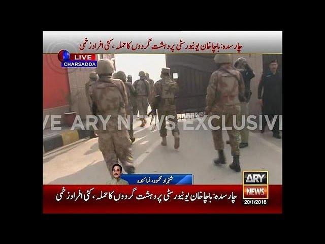 Gunmen storm university in northwest Pakistan