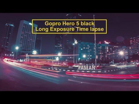 Gopro Hero 5 Long Exposure Time lapse photo w/ settings