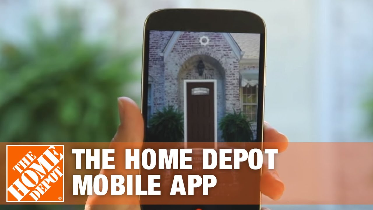 Augmented Reality The Home Depot Mobile App Youtube